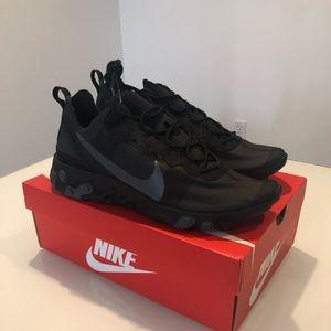 Nike Element 55 Triple Black 11/11.5